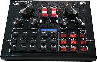 PWV مكثف بطاقة الصوت الميكروفون كيت بطاقة الصوت الحية تعديل التعليق بث معدات تصفية طبقة مزدوجة الطبقة المنبثقة