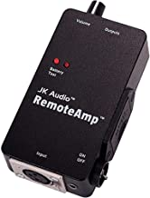 JK Audio RemoteAmp Personal Battery Powered Headphone/Earpiece Amplifier, XLR Input Connections, 30Hz-20kHz Frequency Resp...