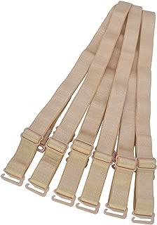 Adjustable Bra Straps Replacement 10/12/15/18/20mm Wide Black White Beige