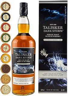 Talisker Dark Storm 1 Liter Single Malt Whisky  9 Edel Schokoladen in 9 Sorten