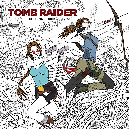 Tomb Raider Adult Coloring Book [Idioma Inglés]