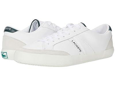 Lacoste Coupole 0120 1 (White/Dark Grey Green) Men