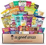 Deluxe VEGAN Snacks Care Package: Delicious Vegan Jerky, Snack Bars,...