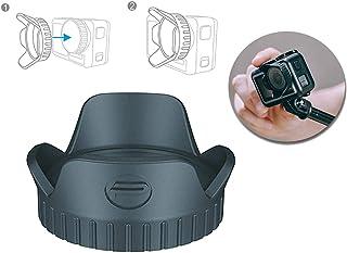 Tineer OSMO Action Lens Hood Protector Cover - Cámara Deportiva Sun Shade Cubierta de la Lente Sun Hood Tapa Protectora para dji OSMO Action Camera Accesorio
