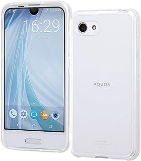 レイ・アウト AQUOS R Compact ケース ハイブリッド/クリア RT-AQRCOCC2/CM