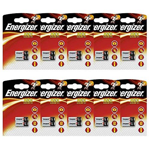 Energizer Batterie, Alkaline, Alkali-Mangan, A23, E23A, 12 V 2 Stück (639336)