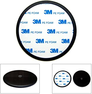 Ramtech 90mm 3M PE Foam Tape Car Truck Dash Dashboard Adhesive Sticky Suction Cup Mount Disc Disk Pad for Rand McNally Good Sam RVND 7725 LM GPS - DMD90
