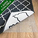 casa pura Non Slip Rug Pad 5x8 – Premium Rug Gripper for Hardwood Floors and Carpet | Many Sizes to Choose from | Super Easy to Customize Size