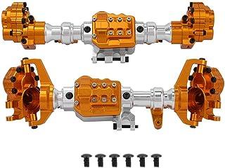 Dilwe Boîtier d'essieu de Voiture RC, logement d'essieu Avant et arrière RC Compatible avec Camion modèle TRAXXAS TRX4