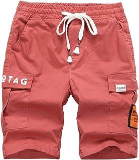 LOKTARC Boys Bermuda Shorts Printed Pull On Cargo Shorts with Pockets 3-4 Years