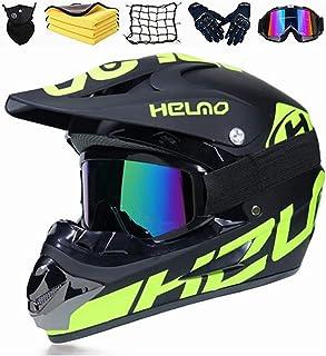 KTMAID Kinder Motorradhelm,Kinder Crosshelm,Motocross Helm,Fullface Helm Endurohelme,Motorrad Crosshelm für Mountainbike ATV BMX Downhill Offroad