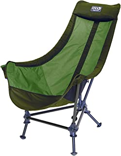 ENO - Eagles Nest Outfitters Lounger DL Camping Chair, Outdoor Lounge Chair, Olive/Lime