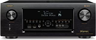 Denon AVRX4300H 9.2 Channel Full 4K Ultra HD AV Receiver with Built-in HEOS wireless technology featuring Bluetooth and Wi-Fi