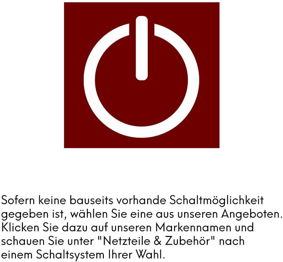 LED Küchenleuchte Unterbauleuchte Aufbauleuchte Küchenlampe Unterbaustrahler SET, Auswahl:3er Set warmweiss 3er Set Neutralweiss