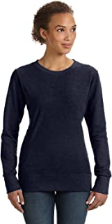 Anvil Womens Mid-Scoop French Terry (72000L) NAVY