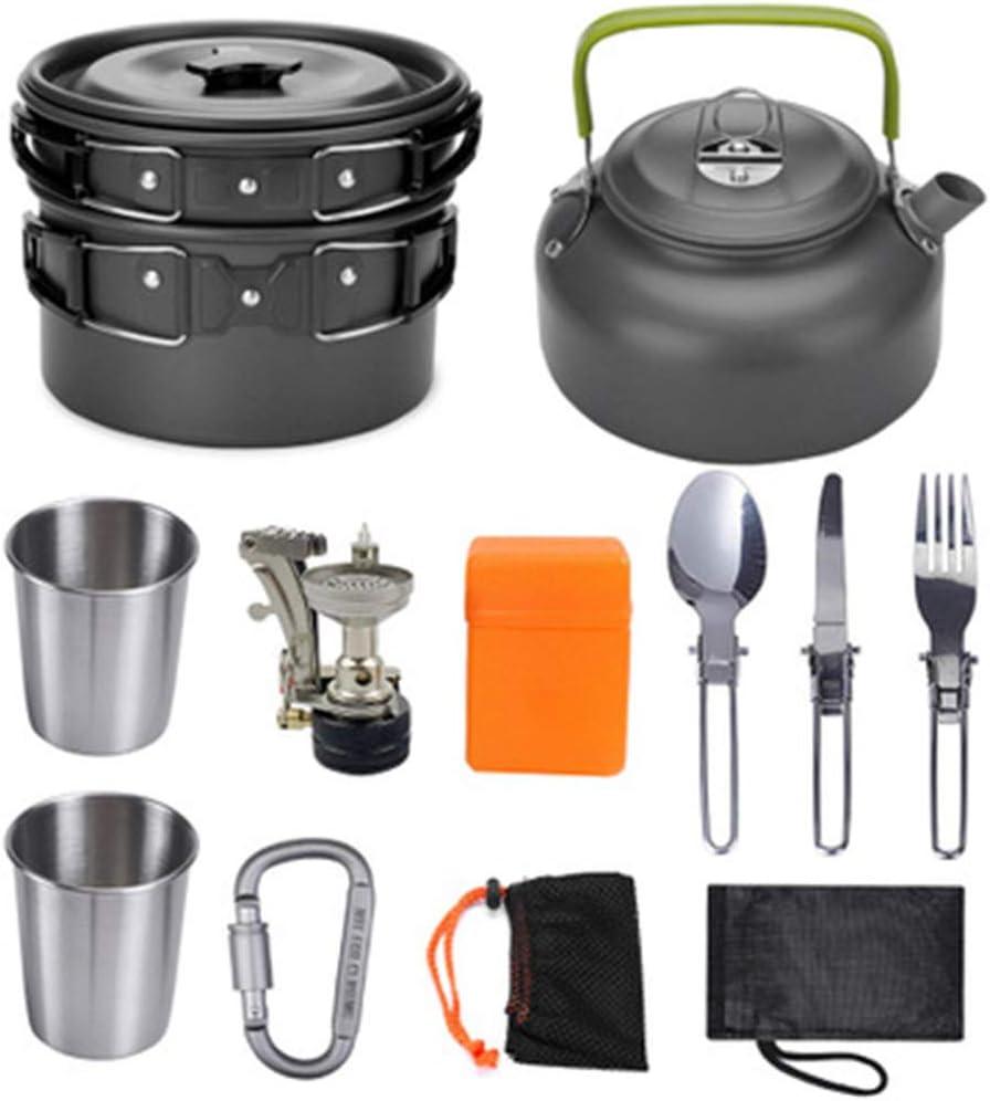 IDE Play Utensilios de Cocina de Camping Kit con Estufa ...