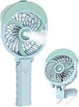 HandFan Portable Handheld Misting Fan with 55ml Water Tank Rechargeable Personal Cooling..