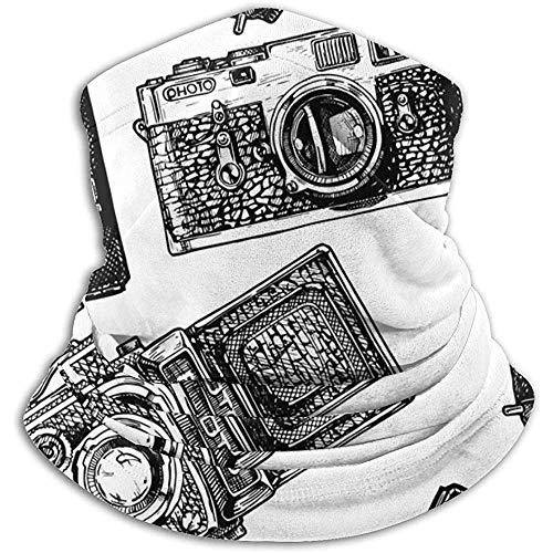 Bklzzjc Caméras Photo Cameravintage Ski Mask Cold Weather Face Mask Neck Warmer Fleece Hood Winter Hats
