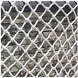 Seguridad y comodidad ZHUYUE cuerda red blanca Niño red de seguridad, Balcón Decoración Protección neto exterior neta Kinder escalera anti-caída de la cuerda cerca red Net Net Weaving gato red de esca