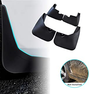 For Kia Optima K5 2011-2016 Car Mud Flaps Splash Guards Mudguard Front and Rear Fender Accessories 4Pcs Set with Screw