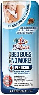 Bug Band No More Bed Bugs Naturally Derived Pesticide, 3 oz