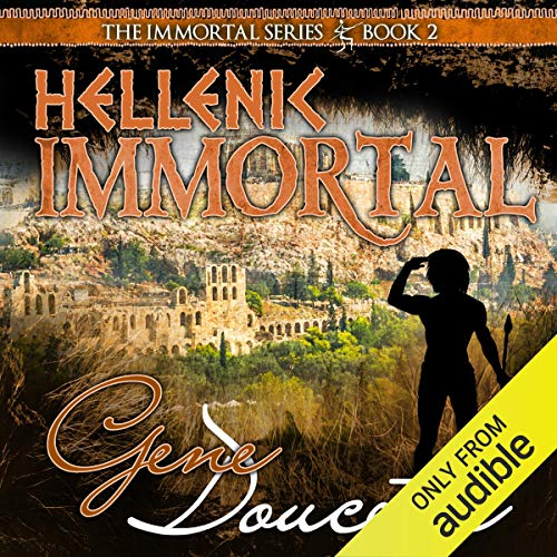Hellenic Immortal audiobook cover art