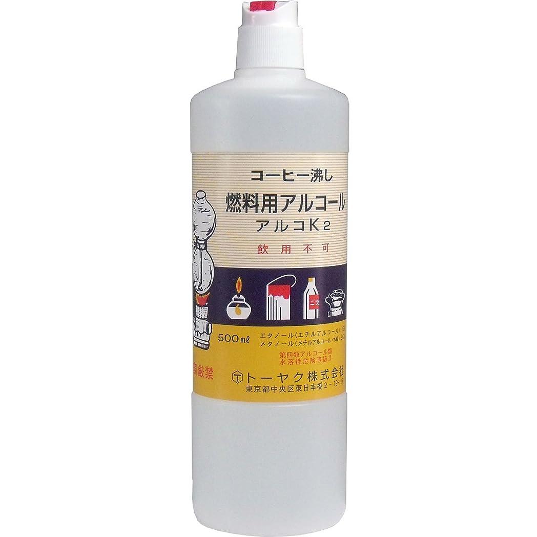 表向きせせらぎ手当燃料用アルコール アルコK2 ×3個セット