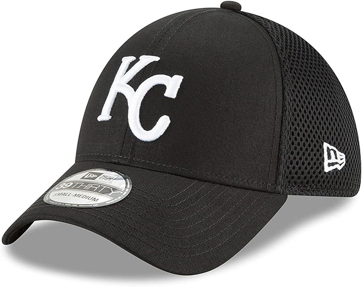 Kansas City Royals Black Neo 39Thirty Flex Hat
