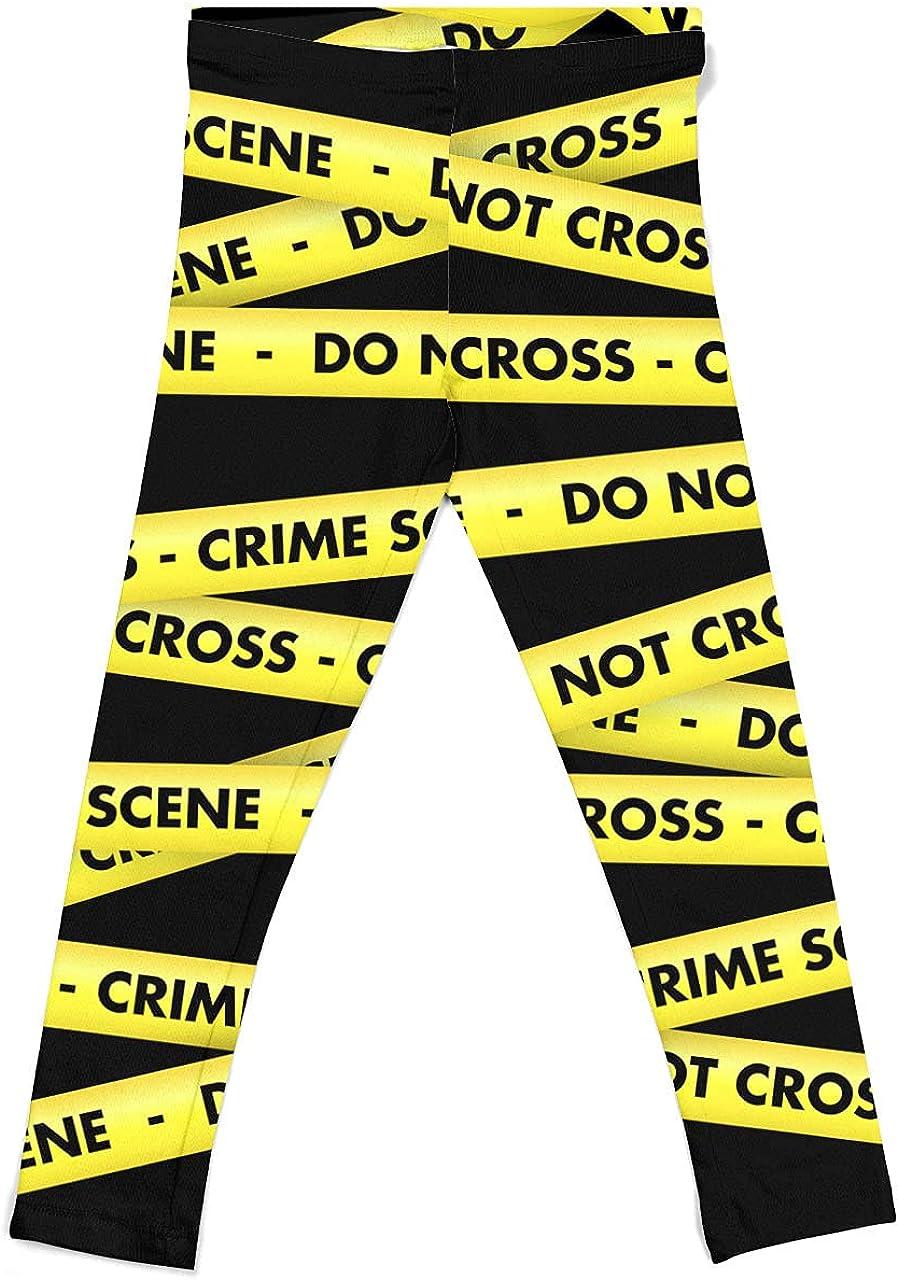 Girls' Leggings - Crime Scene Tape