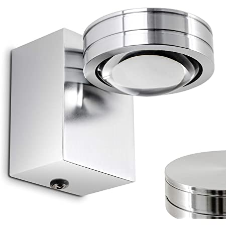LED Bade Zimmer Beleuchtung Schalter Wand Lampen IP44 Up Down Bad Strahler Glas