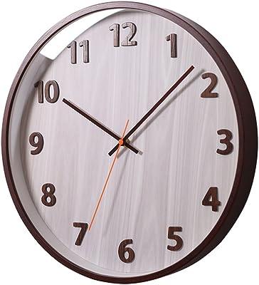 CSQ Study Bedroom Wall Clock, Living Room Classroom Church Restaurant Coffee Shop Gift Shop Antique