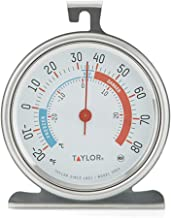 Taylor Precision Products Classic Series Large Dial Thermometer (Freezer/Refrigerator) - Set of 2