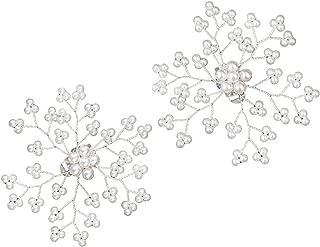 flower shoe clips bridal