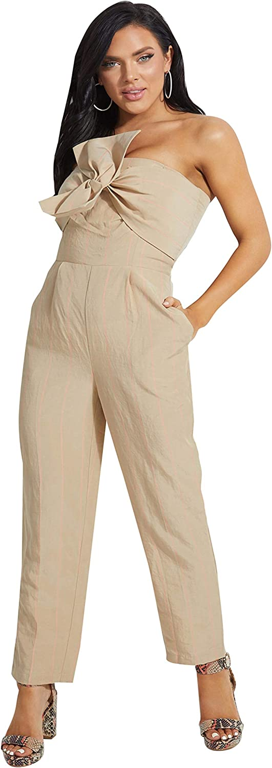 Safety Memphis Mall and trust GUESS Women's Evelina Strapless Jumpsuit