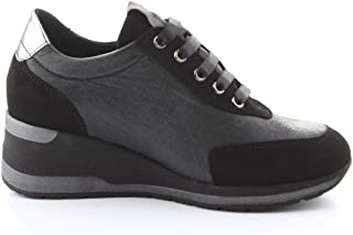 Luxury Fashion | Melluso Women R25523NERO Black Viscose Sneakers | Autumn-winter 20