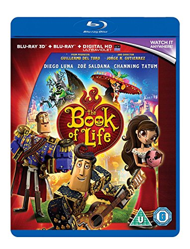 THE BOOK OF LIFE 3D BD [Blu-ray]