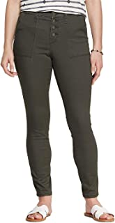 Universal Thread Women's High-Rise Button Fly Utility Skinny Jeggings Jeans