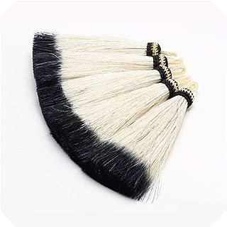 Laniakea-F L101/10Cm Horsehair Tassel/Tassel/Jewelry Accessories/Hand Made/Jewelry Making/Color Slippery Pendant/Embellishments,L10118