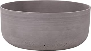 مزهرية حجر الرمل دائرية من ليتل جرين هاوس، بني