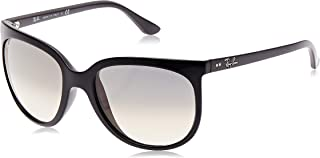 RB4126 Cats 1000 Cat Eye Sunglasses, Black/Grey Gradient, 57 mm