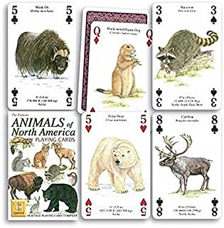 Heritage Playing Cards. Animals of North America