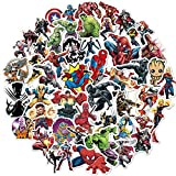 Superhero Avengers Stickers for Teens,Comic Legends Stickers with Party Favors for Kids,Graffiti Waterproof Decals for Water Bottles Bikes Luggage Skateboard Bumper(104pcs Random)