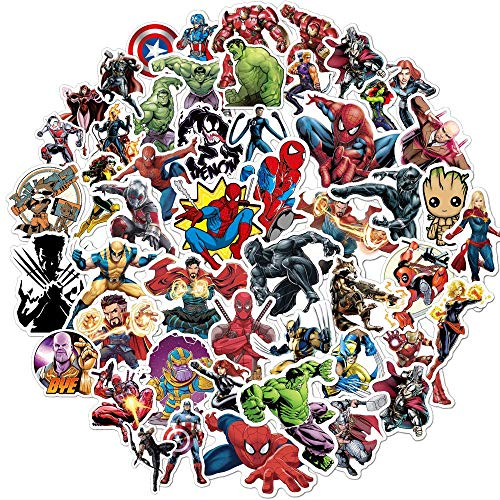 Superhero Avengers Stickers for Tee…