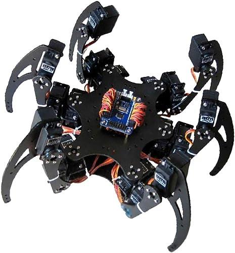 promociones de descuento Almencla Kit de de de Piezas de Robot Kit Spider Robótica Ingeniería Matemáticas Soporte Multifunción - Disco de timón  centro comercial de moda