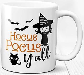 Taza de café Hocus Pocus 330 ml Taza de cerámica de regalo con tema de bruja de Halloween