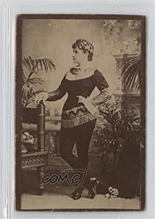 Unknown Actress (Black Leggings looking to her right) (Trading Card) 1890 Duke's Actors and Actresses - Tobacco N150 - Honest Long Cut #NoN
