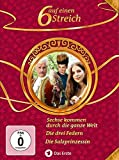 Sechse kommen durch die ganze Welt / Die drei Federn / Die Salzprinzessin [3 DVDs] - Sebastian Bezzel