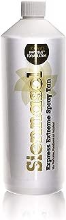 Siennasol Extra Dark 20% DHA Premium Spray Tan. 1 ltr / 33.8 fl oz.