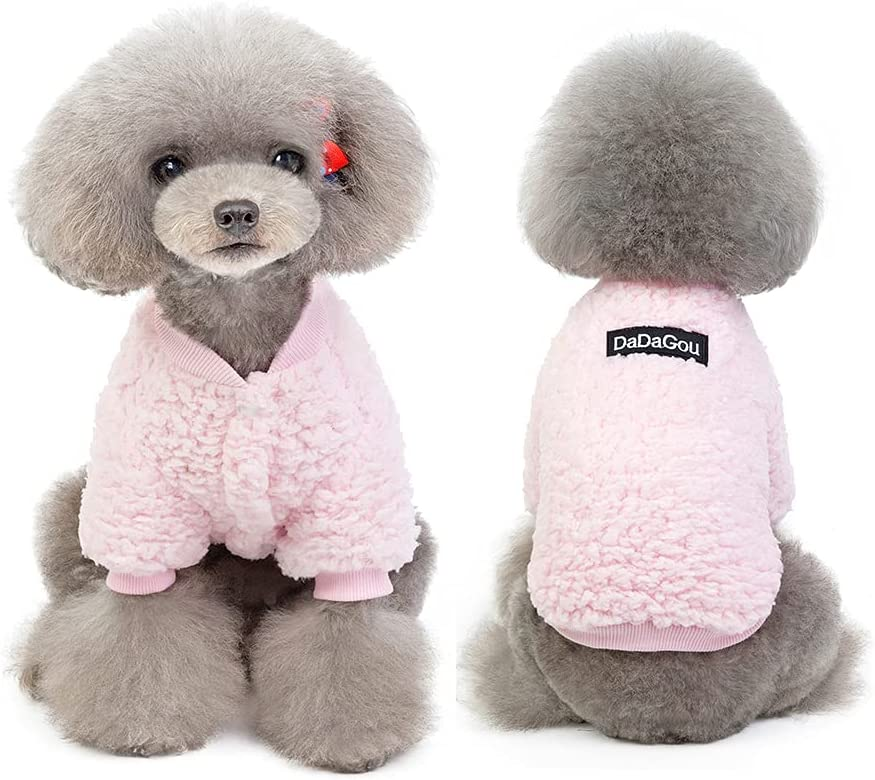 Yealay Dog Fleece Coat Ranking TOP12 Pet Cold Winter Doggie Weather Sw Detroit Mall Clothes