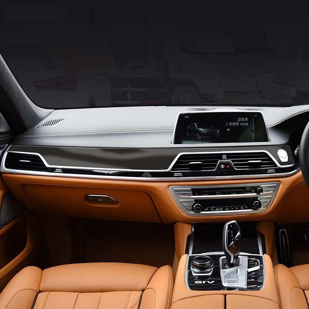 LYAKK Car 5D Carbon Fibre Central Shift Gear Ranking TOP1 1 year warranty Console Pan Control